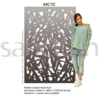 Arctic design Sanctum Screens Aluminium