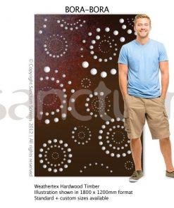 Bora Bora design Sanctum Screens Weathertex Timber