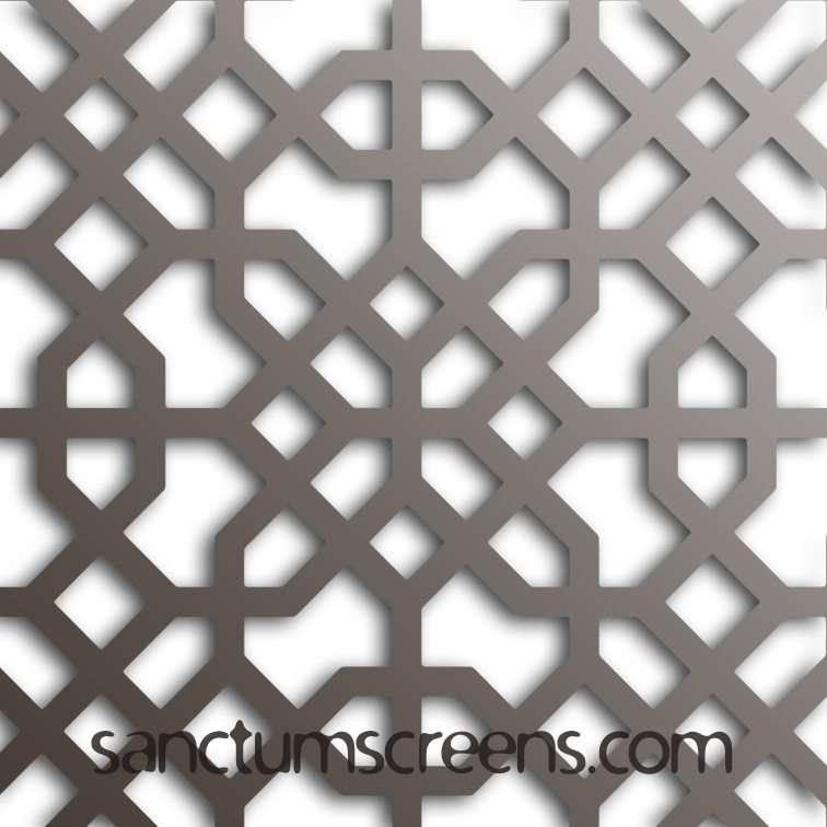Budapest design Sanctum Screens Aluminium