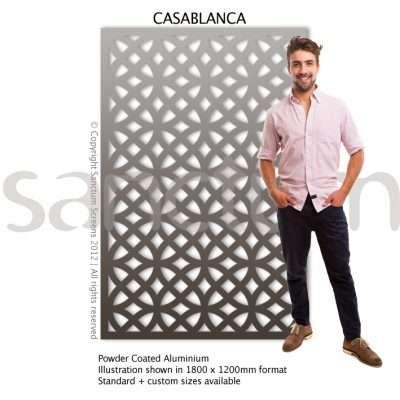 Casablanca design Sanctum Screens Aluminium