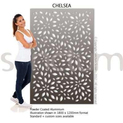 Chelsea design Sanctum Screens Aluminium