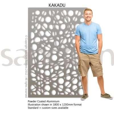 Kakadu design Sanctum Screens Aluminium