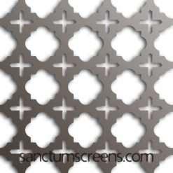 Luxor design Sanctum Screens Aluminium
