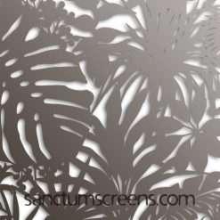 Madagascar design Sanctum Screens Aluminium