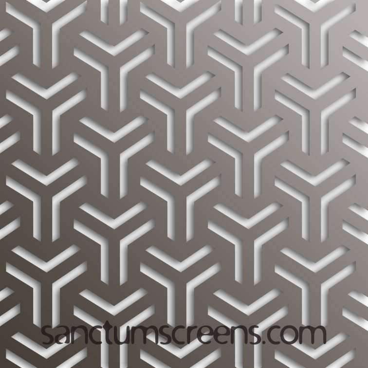 Manhattan design Sanctum Screens Aluminium
