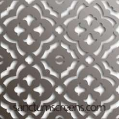 Marrakesh design Sanctum Screens Aluminium