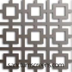 Miami design Sanctum Screens Aluminium