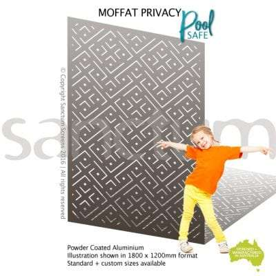 Moffat Privacy / Pool safe screen design