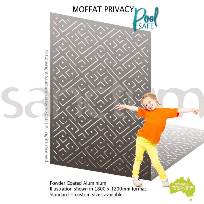Moffat Privacy / Pool safe screen design