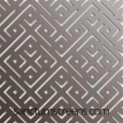 Moffat design Sanctum Screens Aluminium
