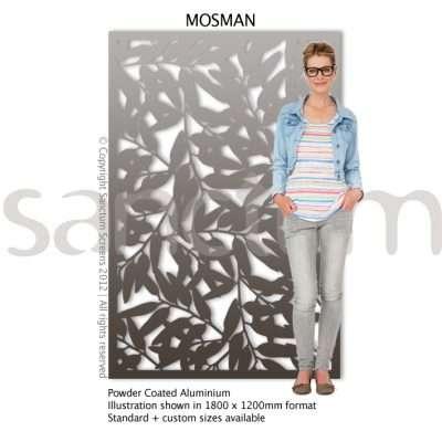 Mosman design Sanctum Screens Aluminium