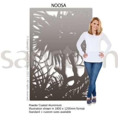 Noosa design Sanctum Screens Aluminium