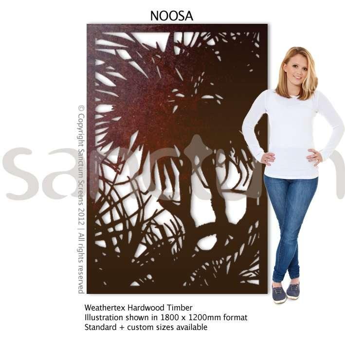 Noosa design Sanctum Screens Weathertex Timber