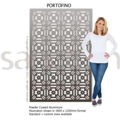 Portofino design Sanctum Screens Aluminium