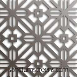 Tangier design Sanctum Screens Aluminium