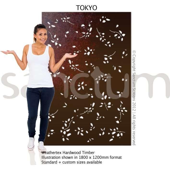 Tokyo design Sanctum Screens Weathertex Timber