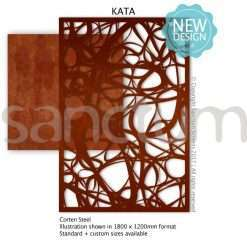 Kata design Sanctum Screens Corten Steel