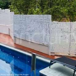 Stepped pool safe screening