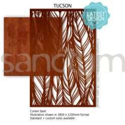 Tucson design Sanctum Screens Corten Steel
