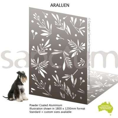 Araluen screen design