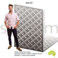Ascot screen design