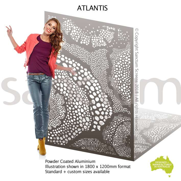 Atlantis screen design
