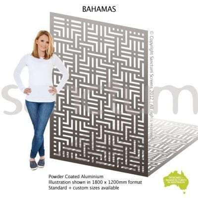 Bahamas screen design