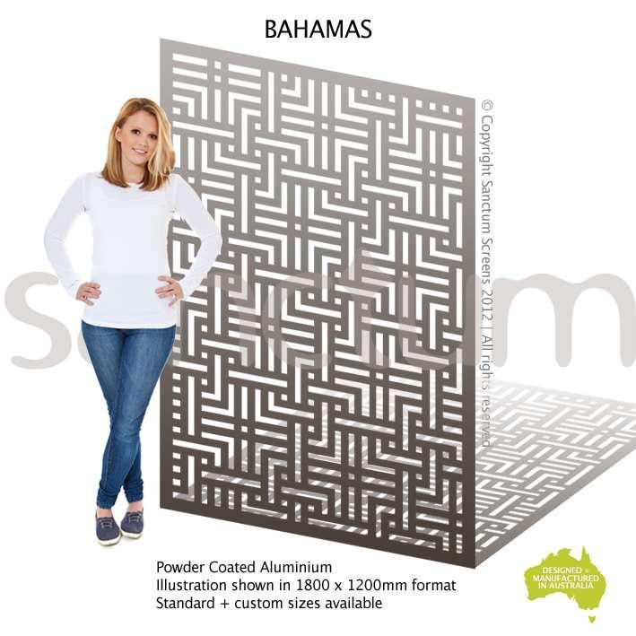 Bahamas screen design