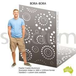Bora bora screen design