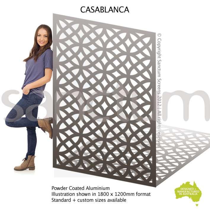 Casablanca screen design