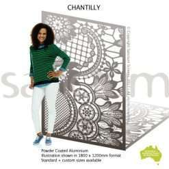 Chantilly screen design