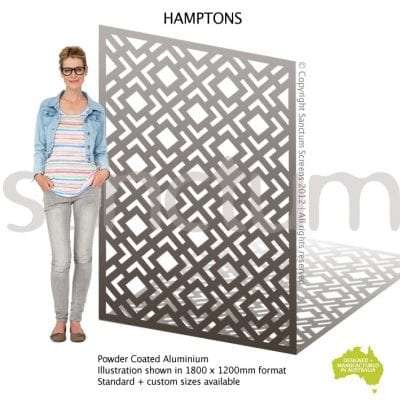 Hamptons screen design