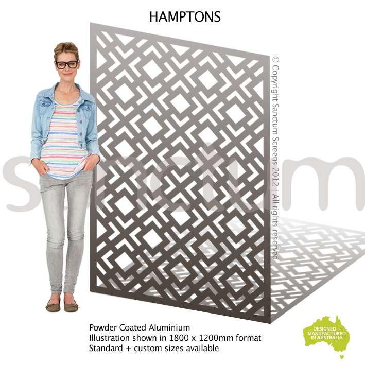 Hamptons screen design