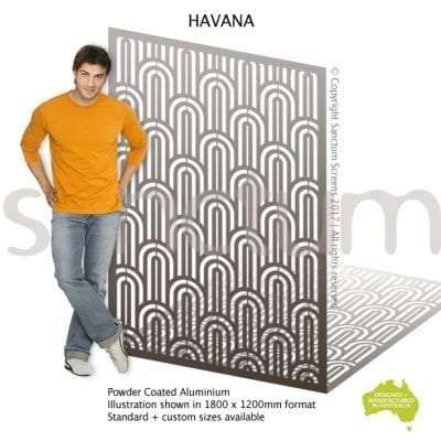 Havana screen design