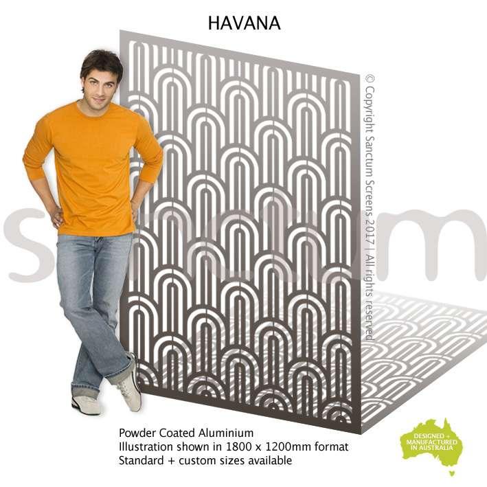 Havana screen design