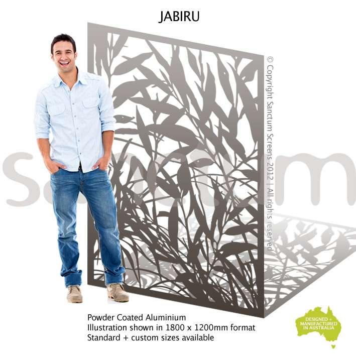 Jabiru screen design