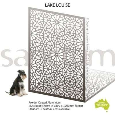 Lake Louise screen design