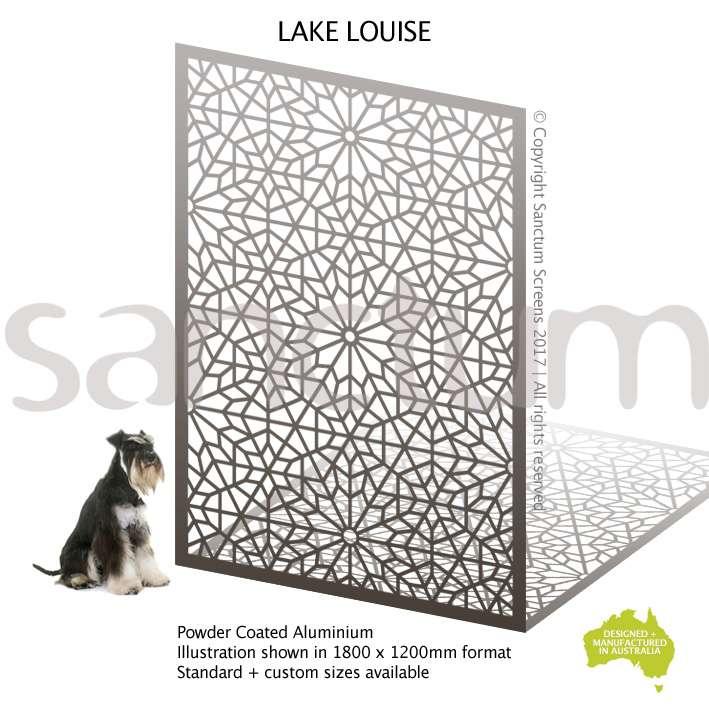 Lake Louise screen design