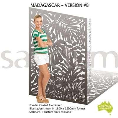 Madagascar B screen design