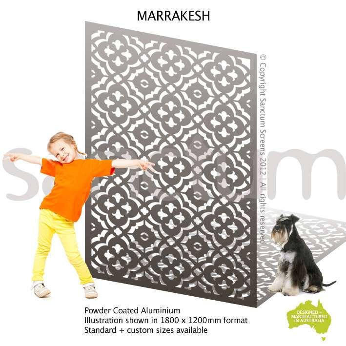 Marrakesh screen design