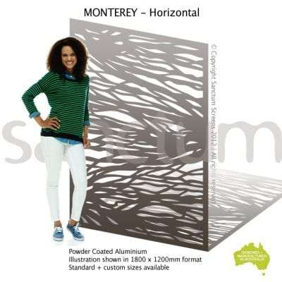 Monterey Horizontal screen design