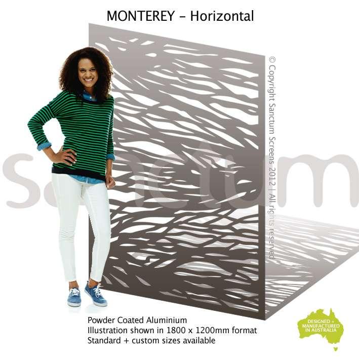 Monterey Horizontal screen design