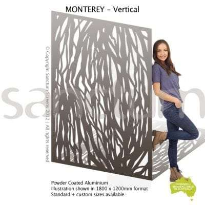 Monterey Vertical screen design