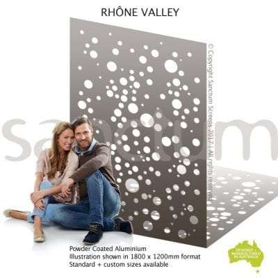 Rhone Valley screen design