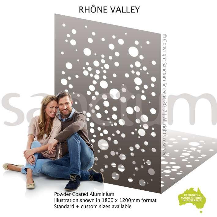 Rhone Valley screen design