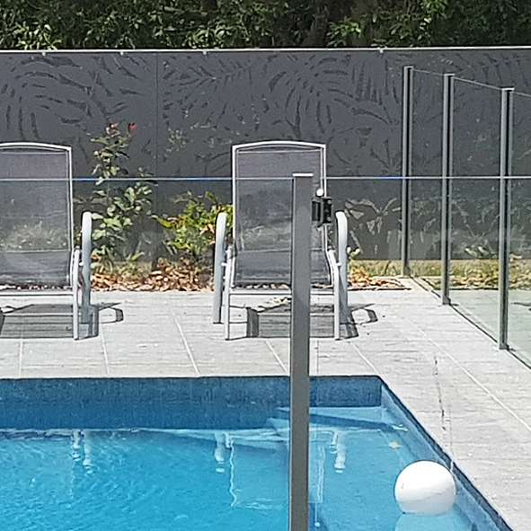 Perforated pool safe design