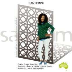 Santorini screen design