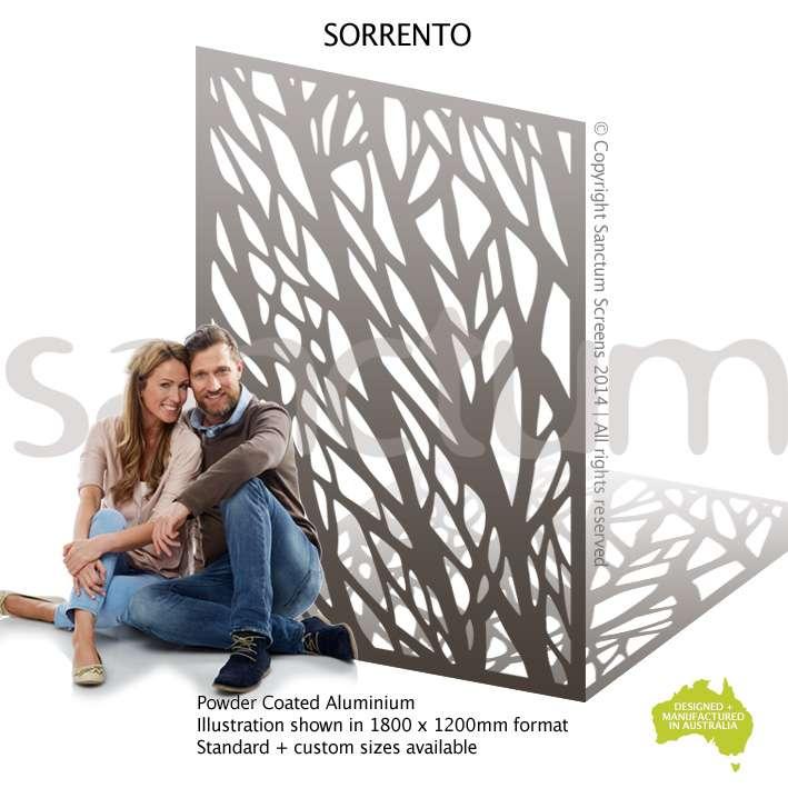 Sorrento screen design