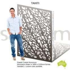 Tahiti screen design