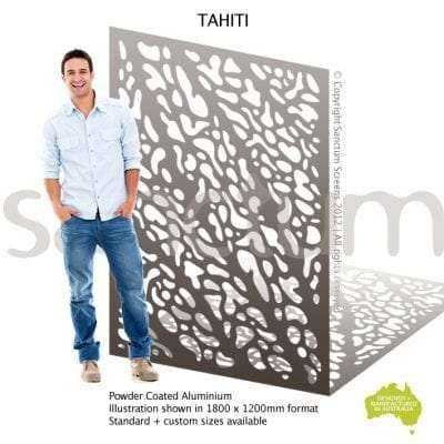 Tahiti screen design